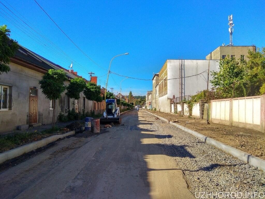 ремонт вулиці Шумної фото