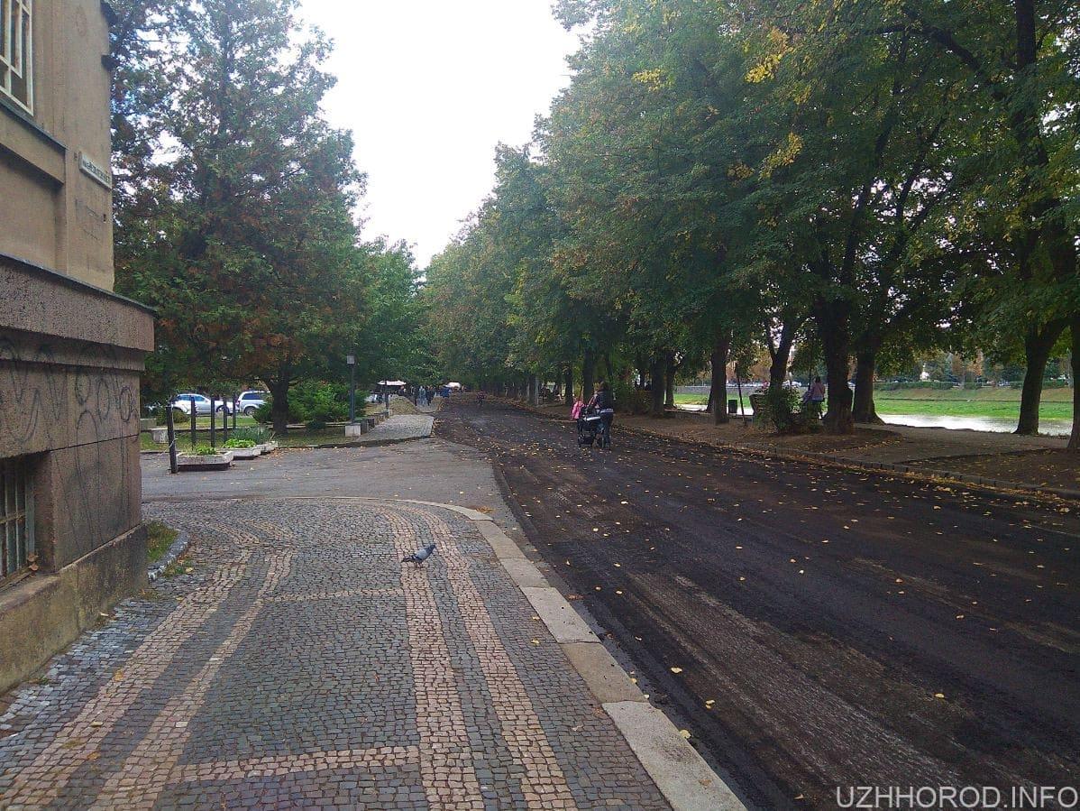Нічна пригода в центрі міста Ужгород.