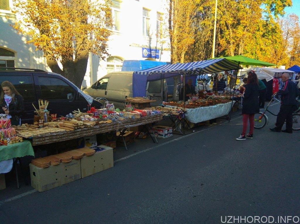 Ярмарок «Золота осінь – 2018» в Ужгороді. (24 ФОТО)