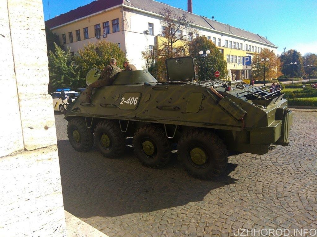 Ужгород відсвяткував День захисника України.
