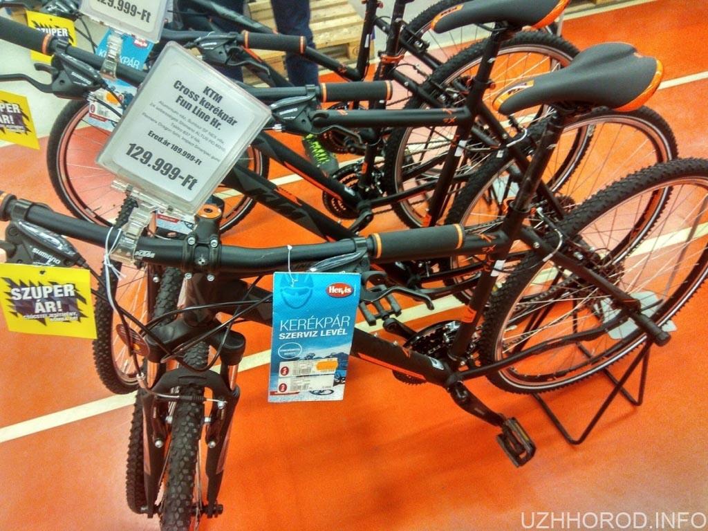 Дебрецен Форум велосипед фото