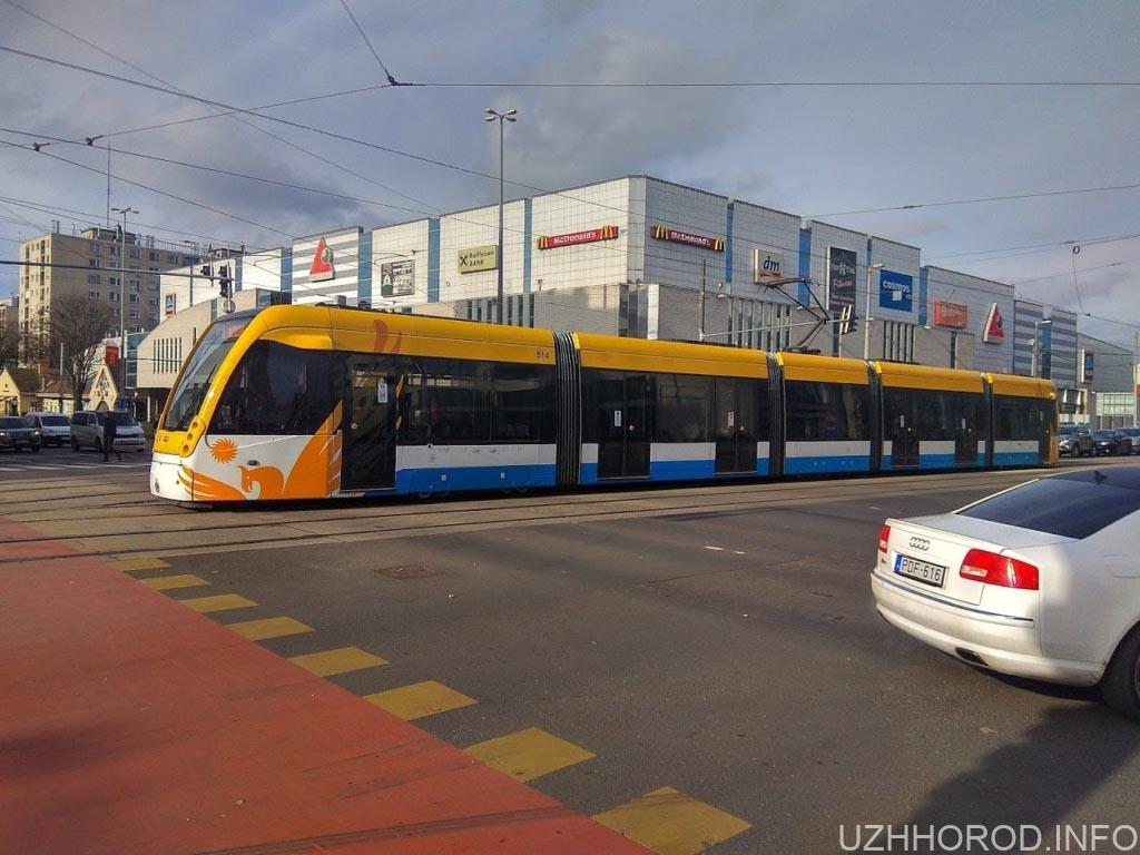 Дебрецен місто трамвай фото