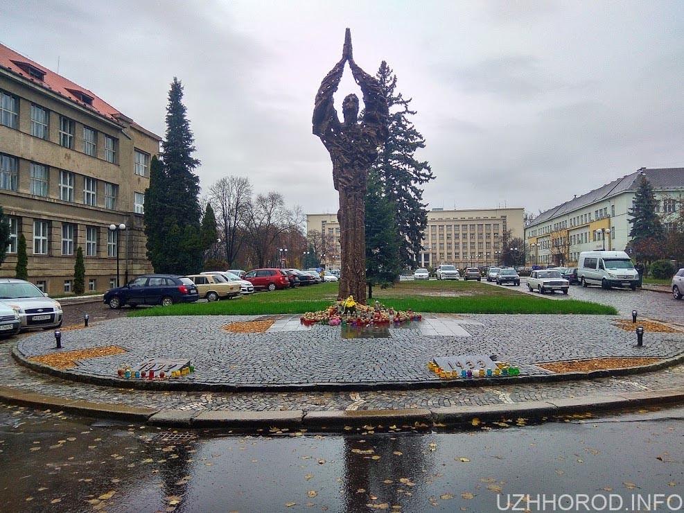 Пам'ятник голодомору фото 2611