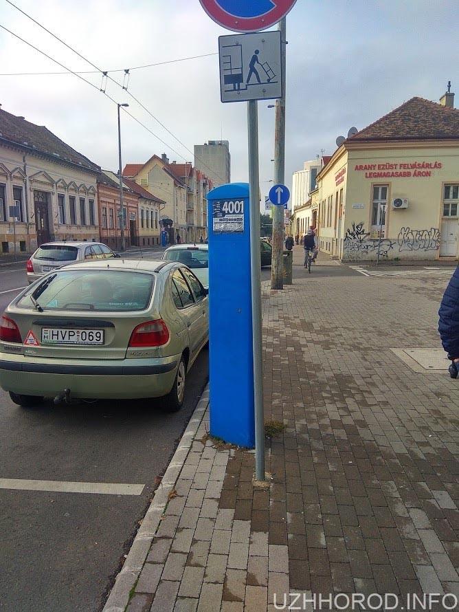 Паркомат автомобільний фото