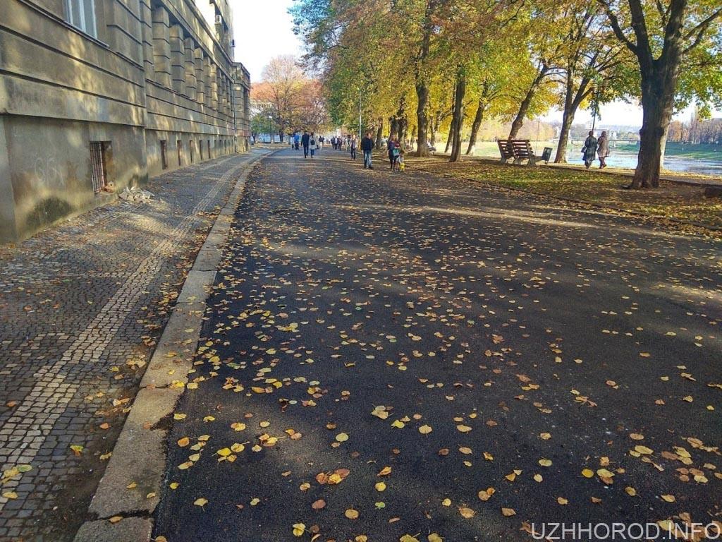 Ремонт набережна незалежності Ужгород фото 3