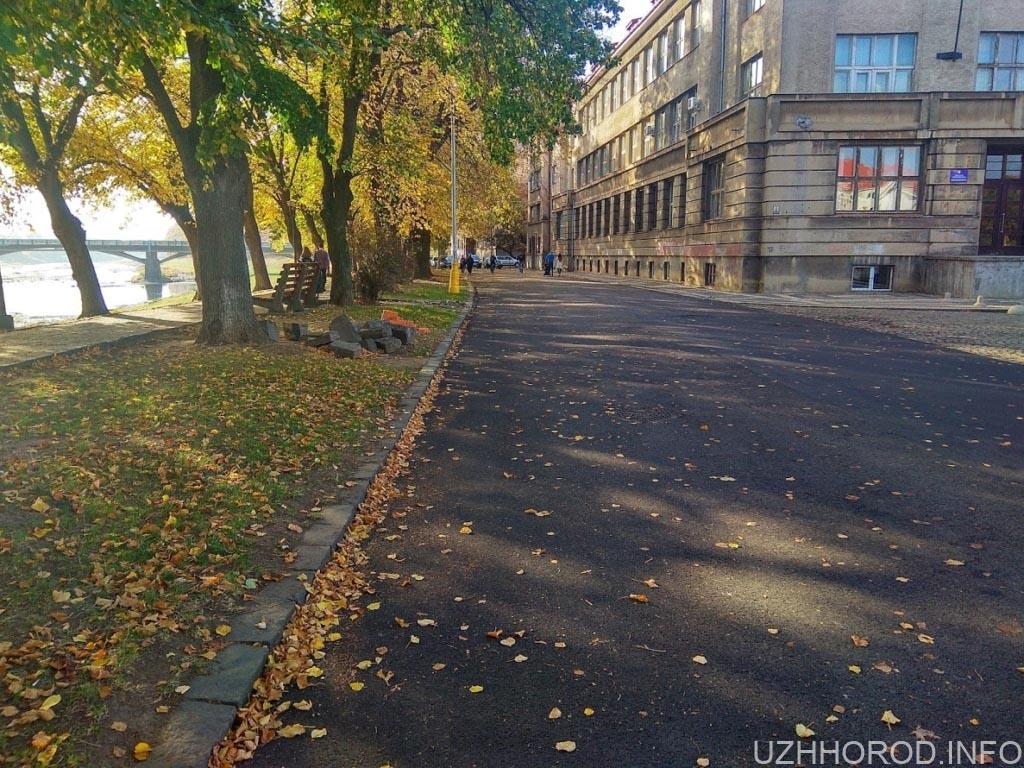 Ремонт набережна незалежності Ужгород фото 4