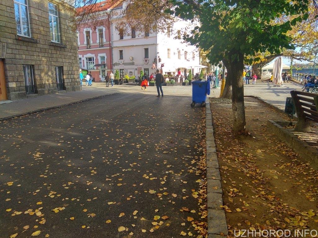 Ремонт набережна незалежності Ужгород фото 6