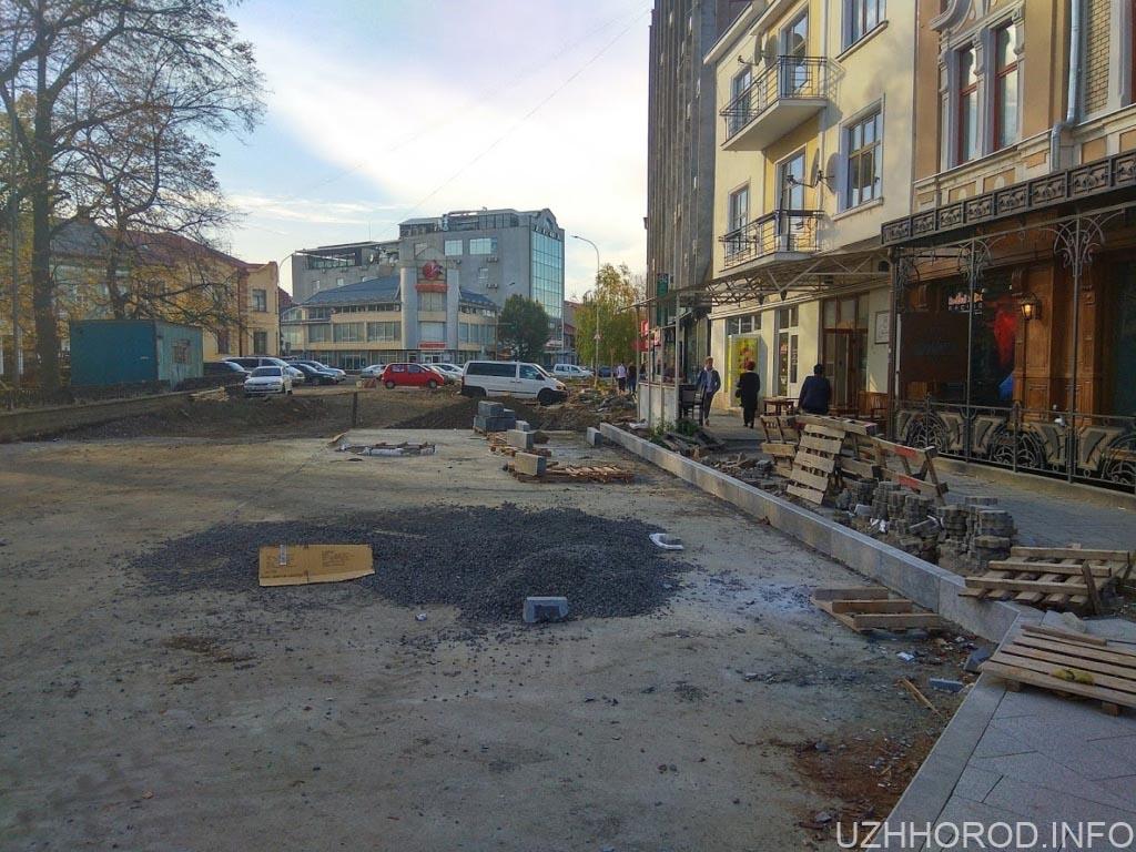 Ремонт площі Петефі фото 2
