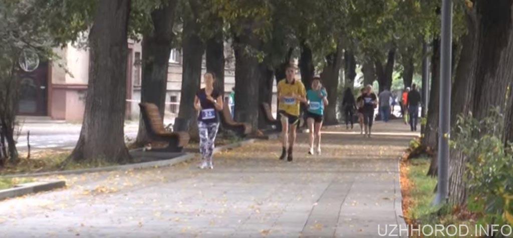 Другий півмарафон відбувся в Ужгороді (ВІДЕО)