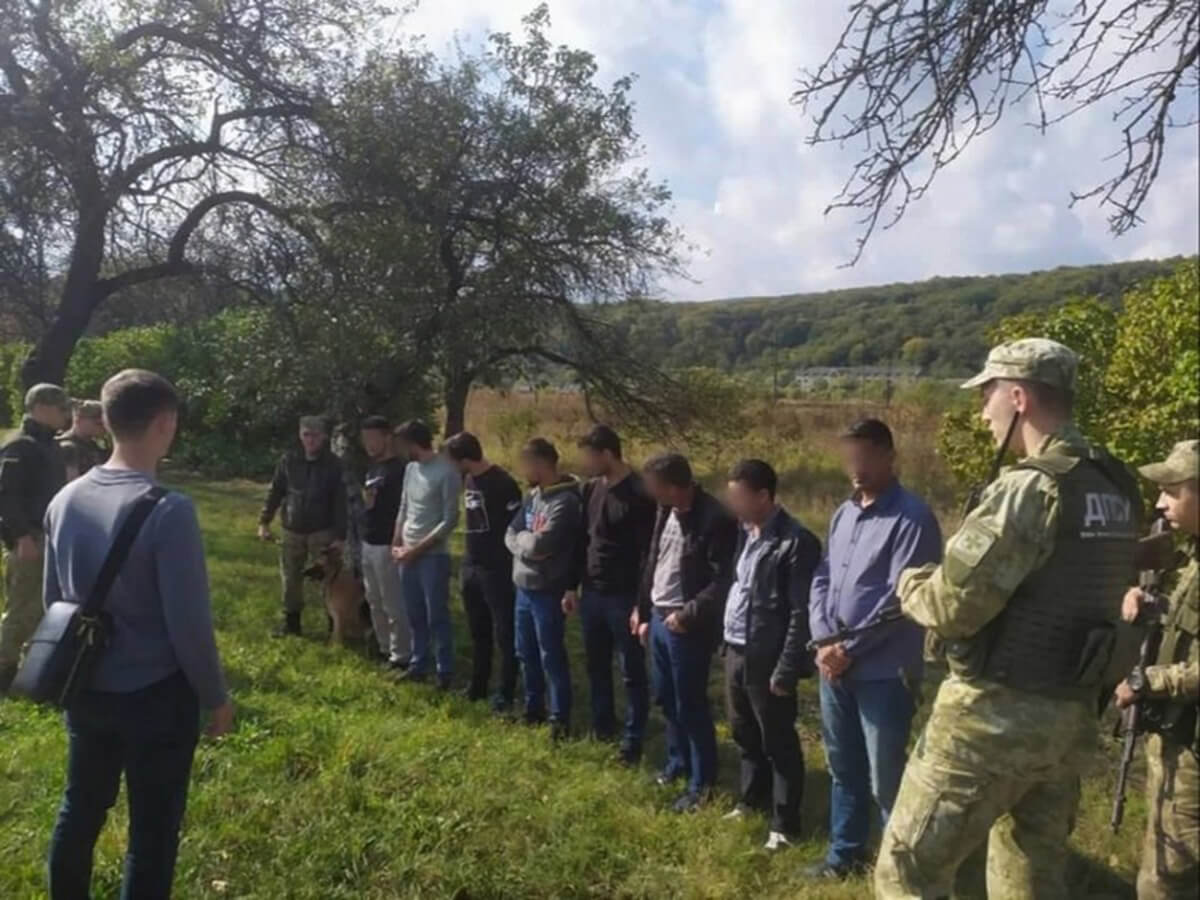 Затримано нелегалів у Перечинському районі