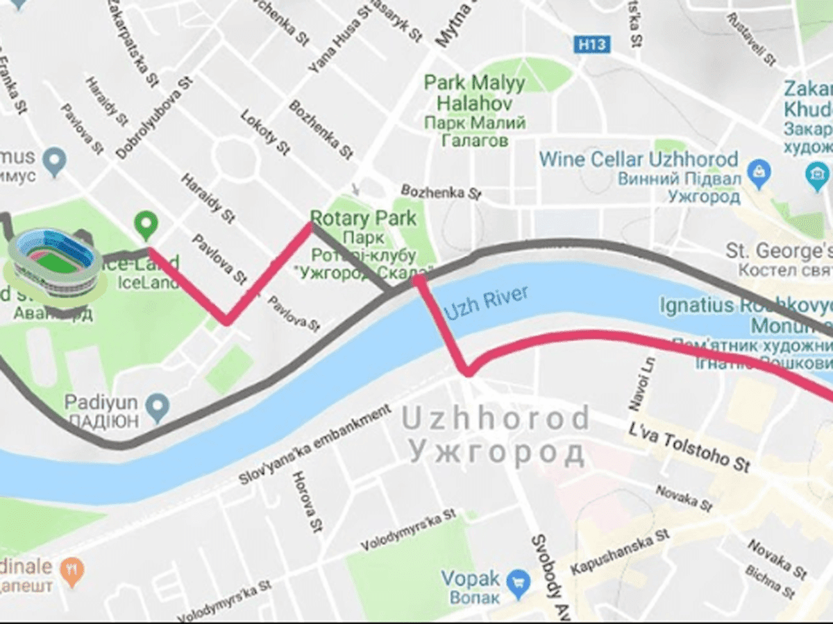 У неділю в Ужгороді буде змінено маршрут громадського транспорту