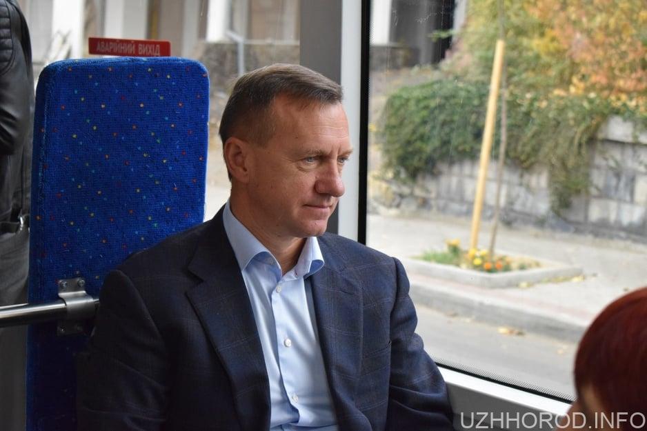 """10 нових сучасних автобусів """"Електрон"""" – в Ужгороді"""