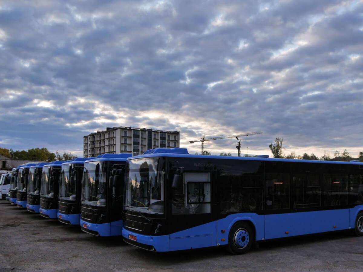 10 нових сучасних автобусів 5 фото