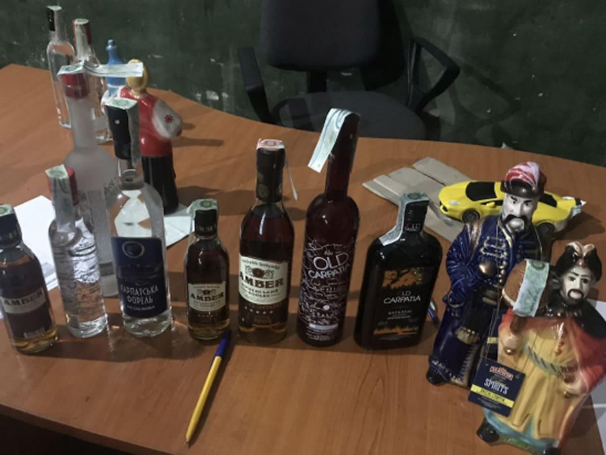 Конфісковано 8 тис. літрів алкоголю