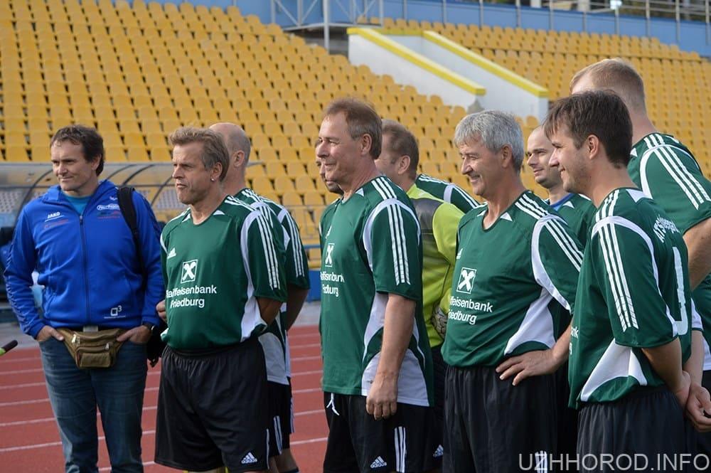 Матч між командою з Австрії та Ужгорода
