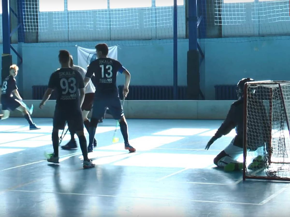 Флорбольні команди провели змагання (Відео)