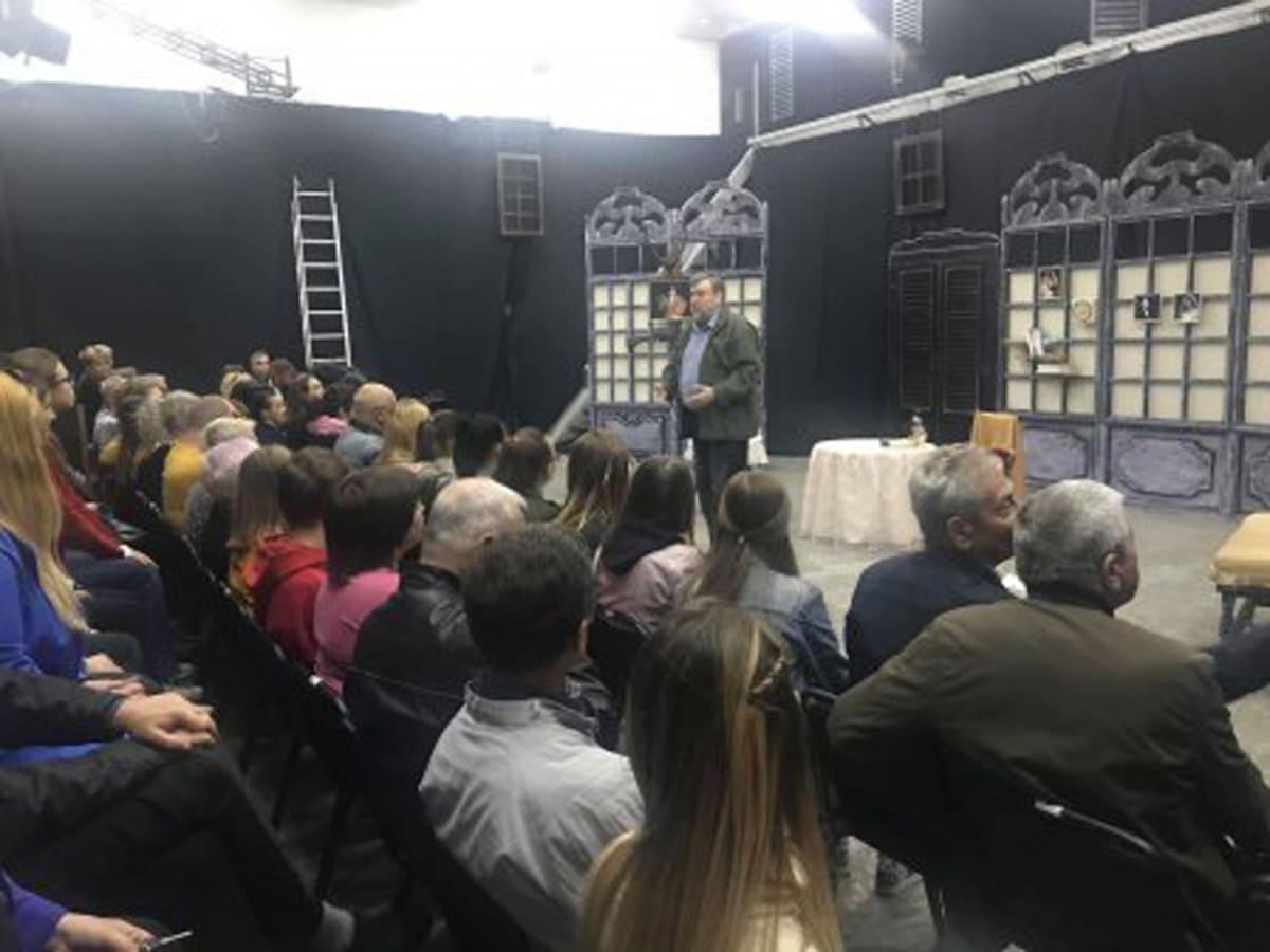 Театральний сезон в Ужгороді відкриє комедія-фарс-детектив (ВІДЕО)