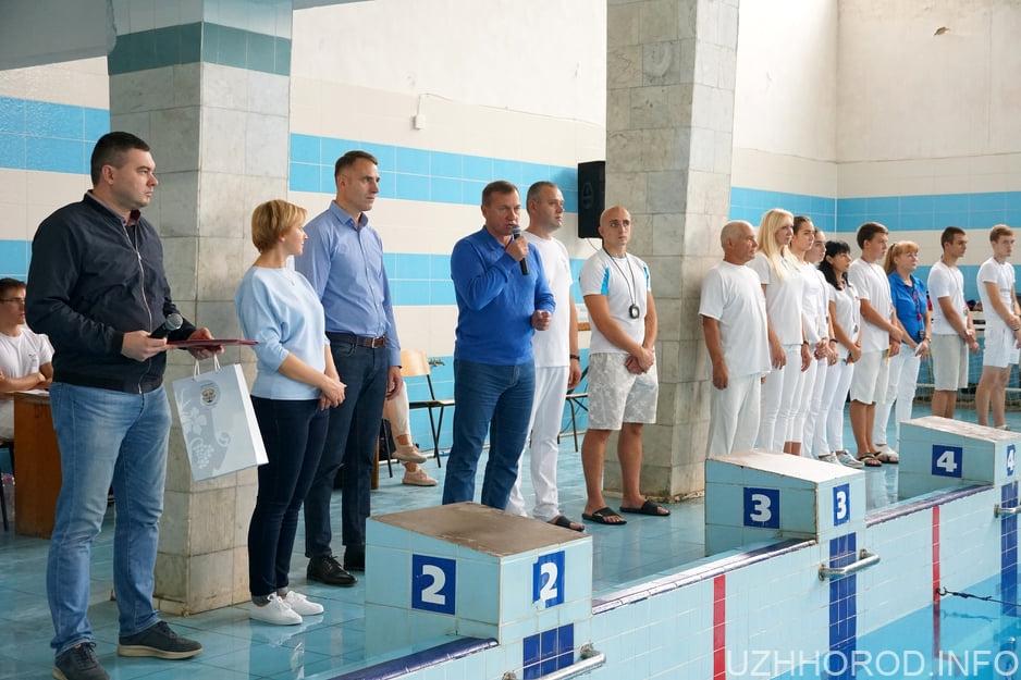Відкритий кубок Ужгорода з плавання відбувся