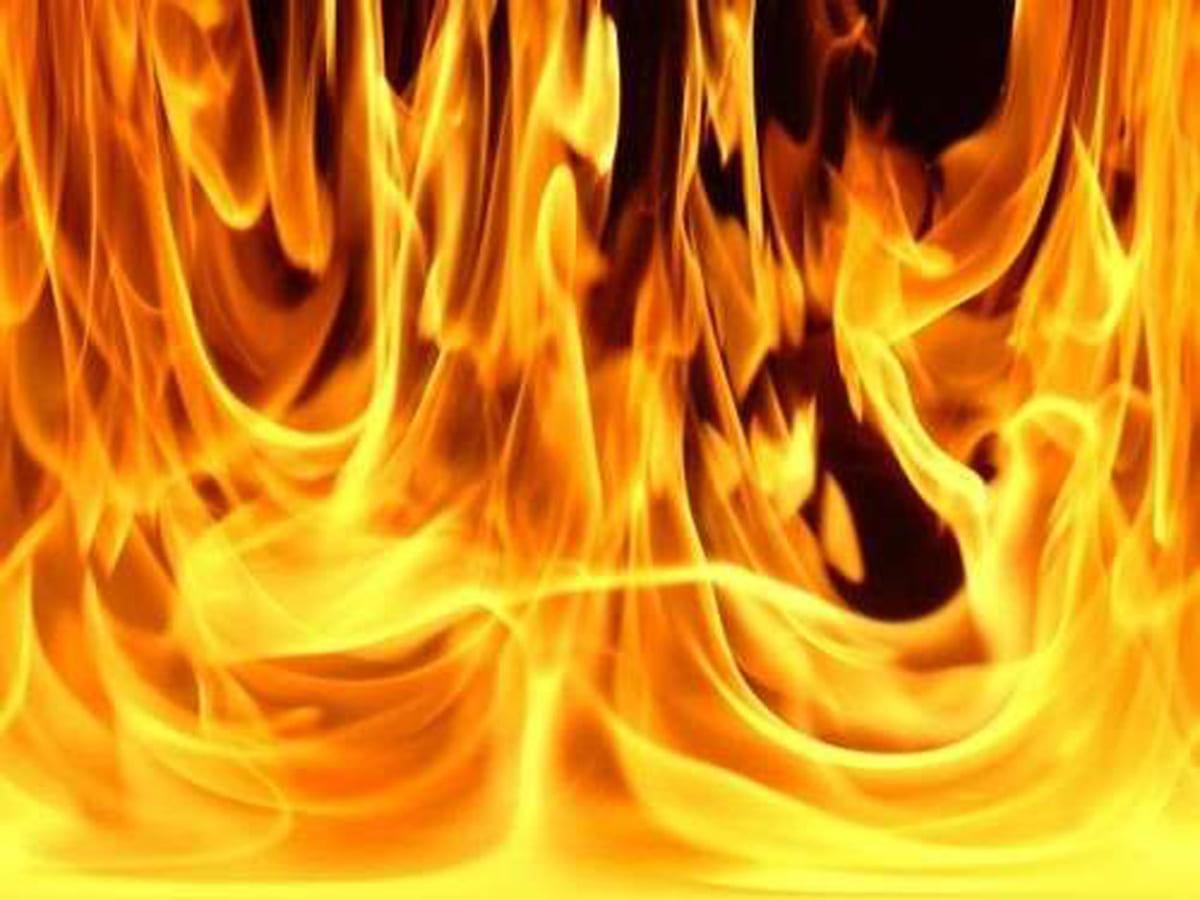 підпал будинку фото