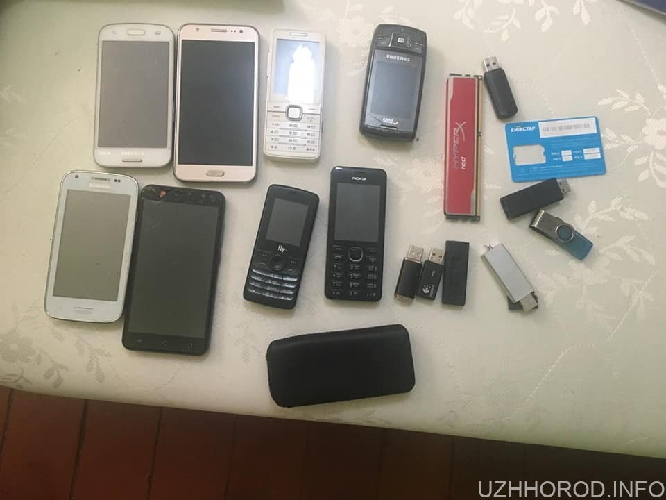 УВАГА! Поліцейські міста Ужгорода просять громадян впізнати свої речі