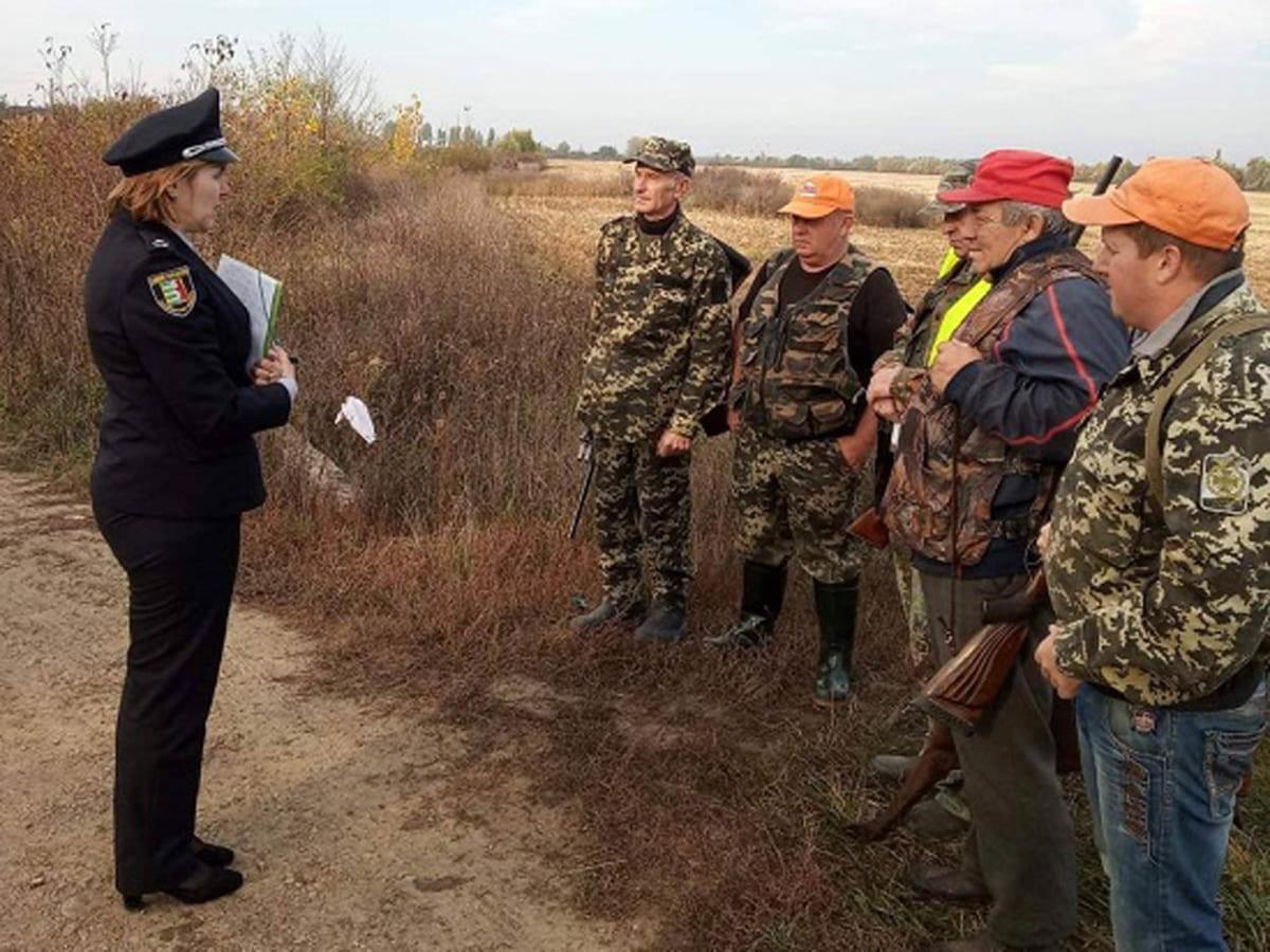 Поліція прочитала лекцію мисливцям