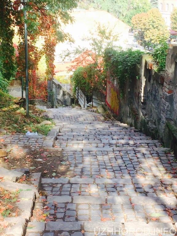Ужгородські сходи для поцілунків (ФОТО)