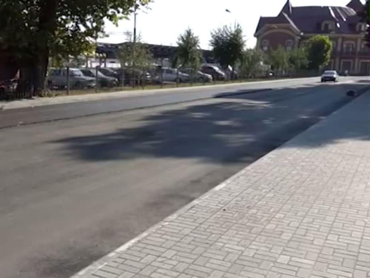 Капітальний ремонт вулиці Станційної продовжується (ВІДЕО)