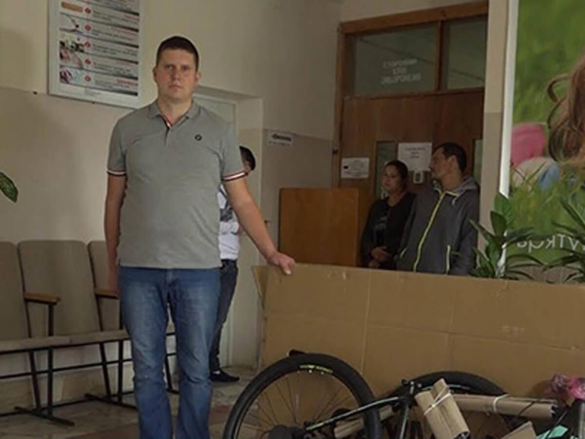 Ужгородець став переможцем донорської акції (ВІДЕО)