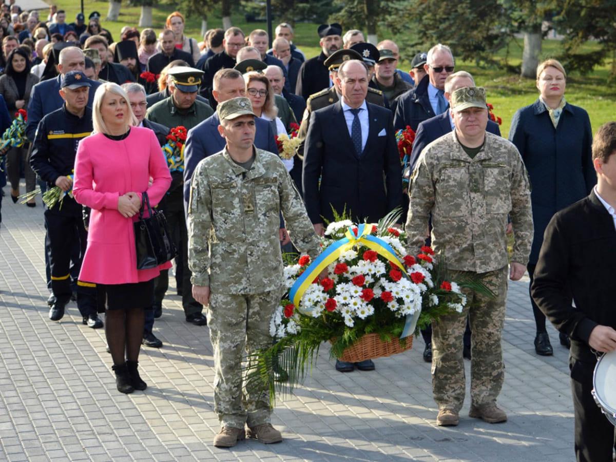 Сьогодні вшановували загиблих захисників України