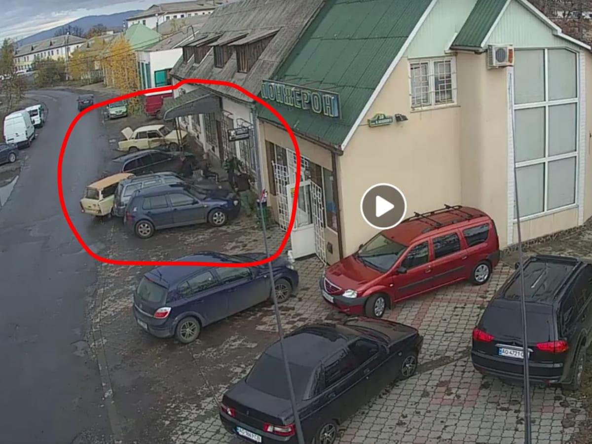 дтп 4 автомобілі фото