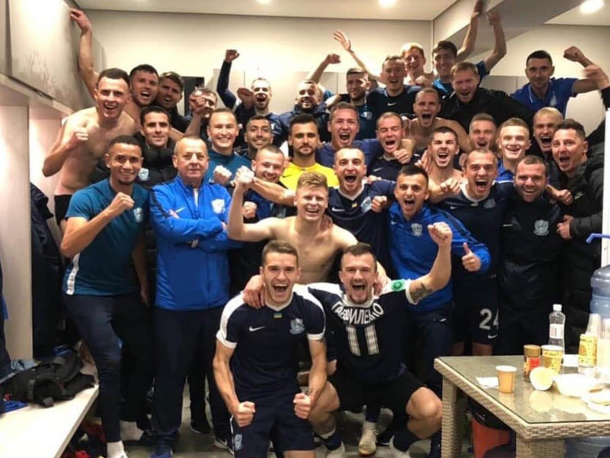 Минай футбол перемога фото