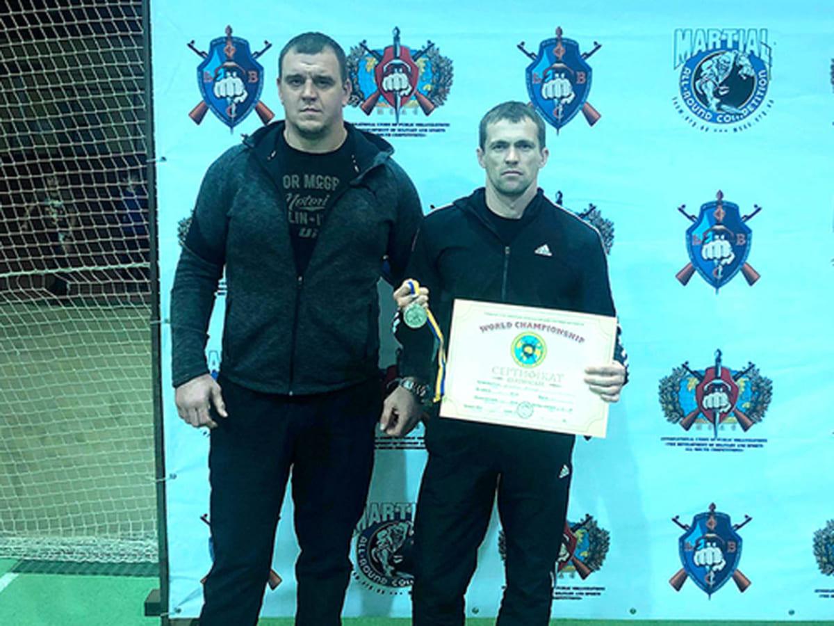 Василь Морквич став призером чемпіонату світу фото