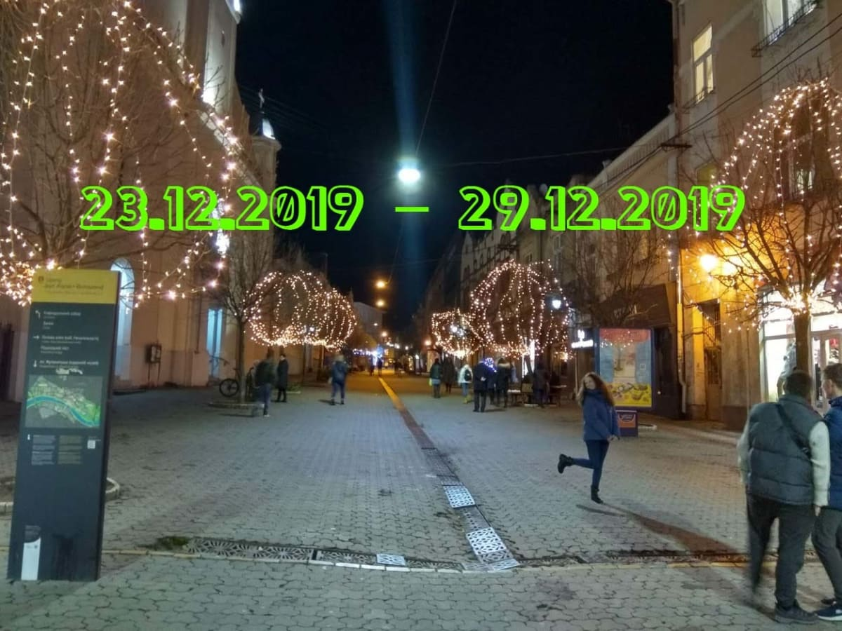 Гороскоп на 52 тиждень 2019 року (23.12.2019 – 29.12.2019)