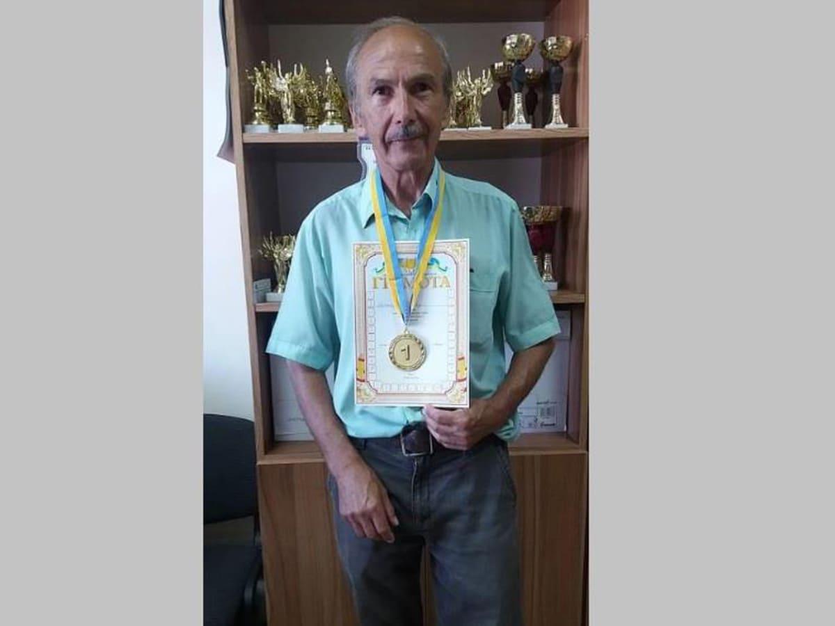 Михайло Рішко переможець шашки фото