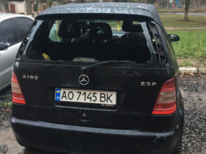 Пограбовано автомобіль з товарами для малечі з дитбудинку
