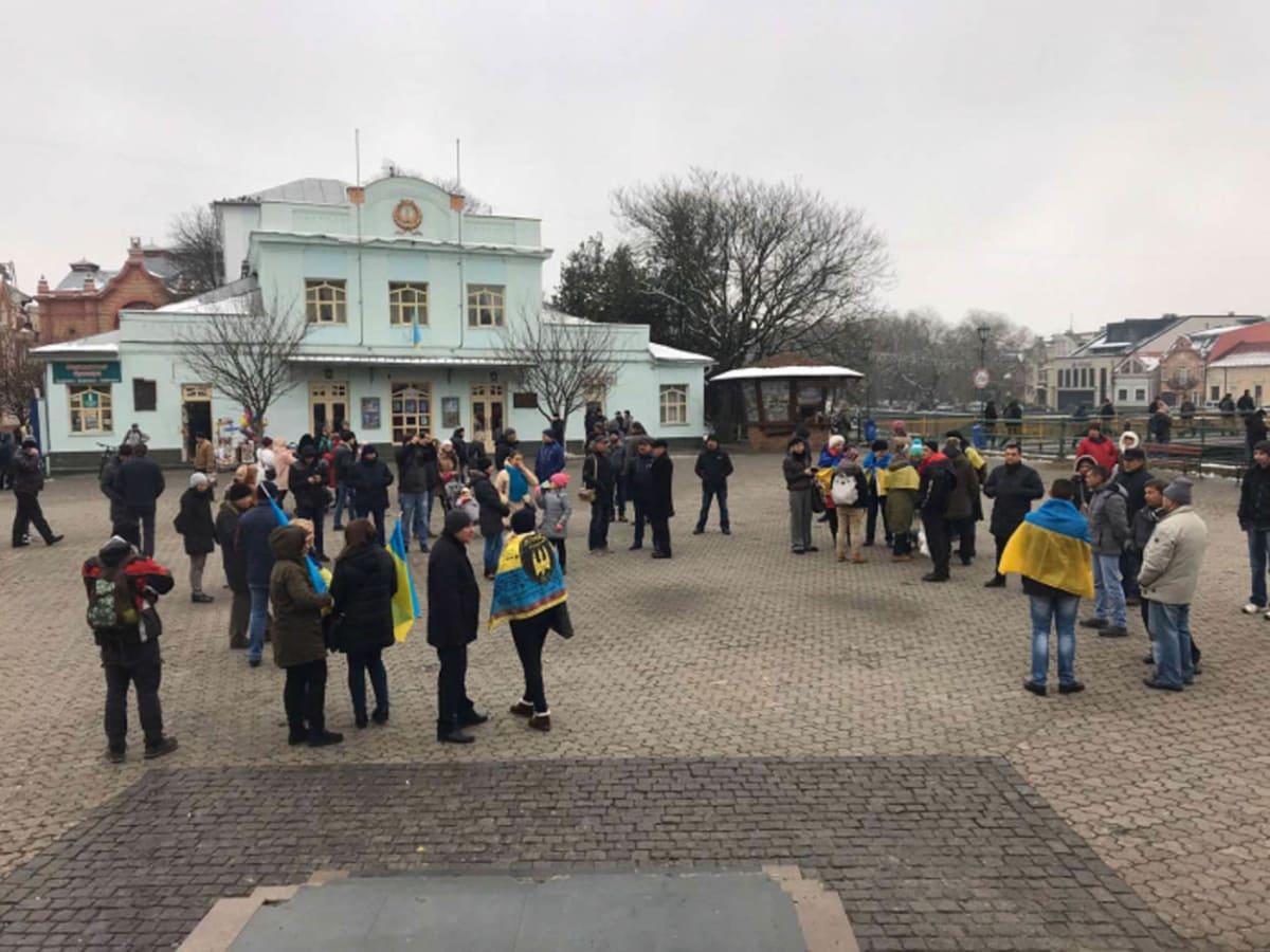 ужгородський Майдан фото
