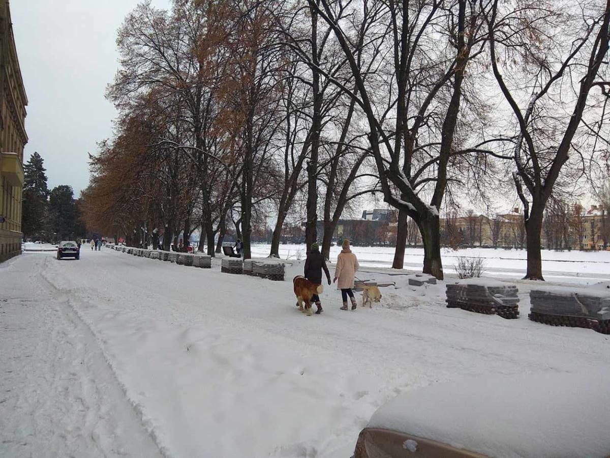 в Ужгороді можливий сніг фото
