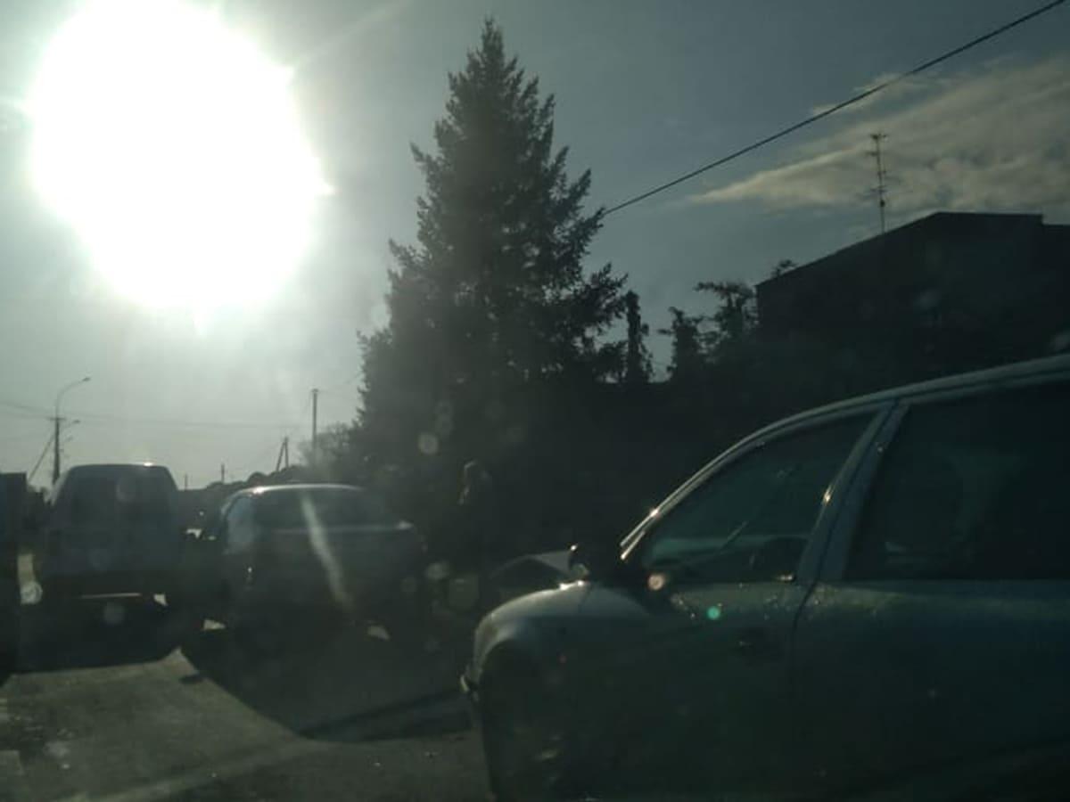 На виїзді з Ужгорода сталася ДТП