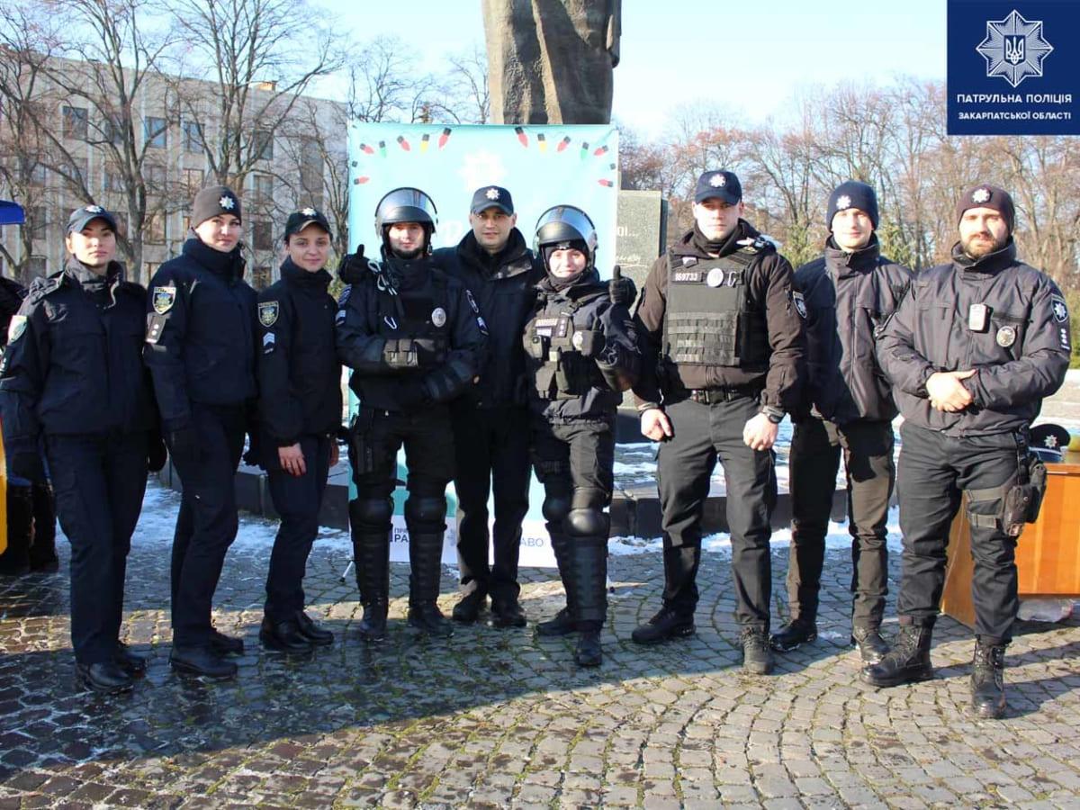 патрульна поліція Ужгород 3 фото