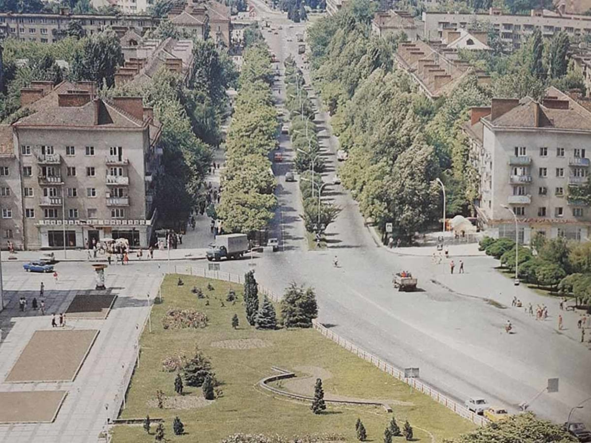 Проспект Свободи у 1985 році (ФОТО)