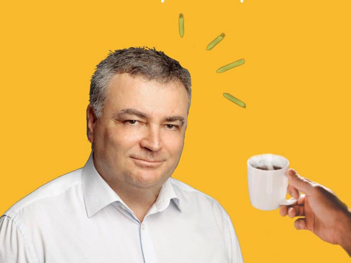 кава із ректором УжНУ фото