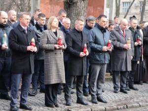 В місті вшанували подвиг учасників Революції Гідності та пам'ять Героїв Небесної Сотні