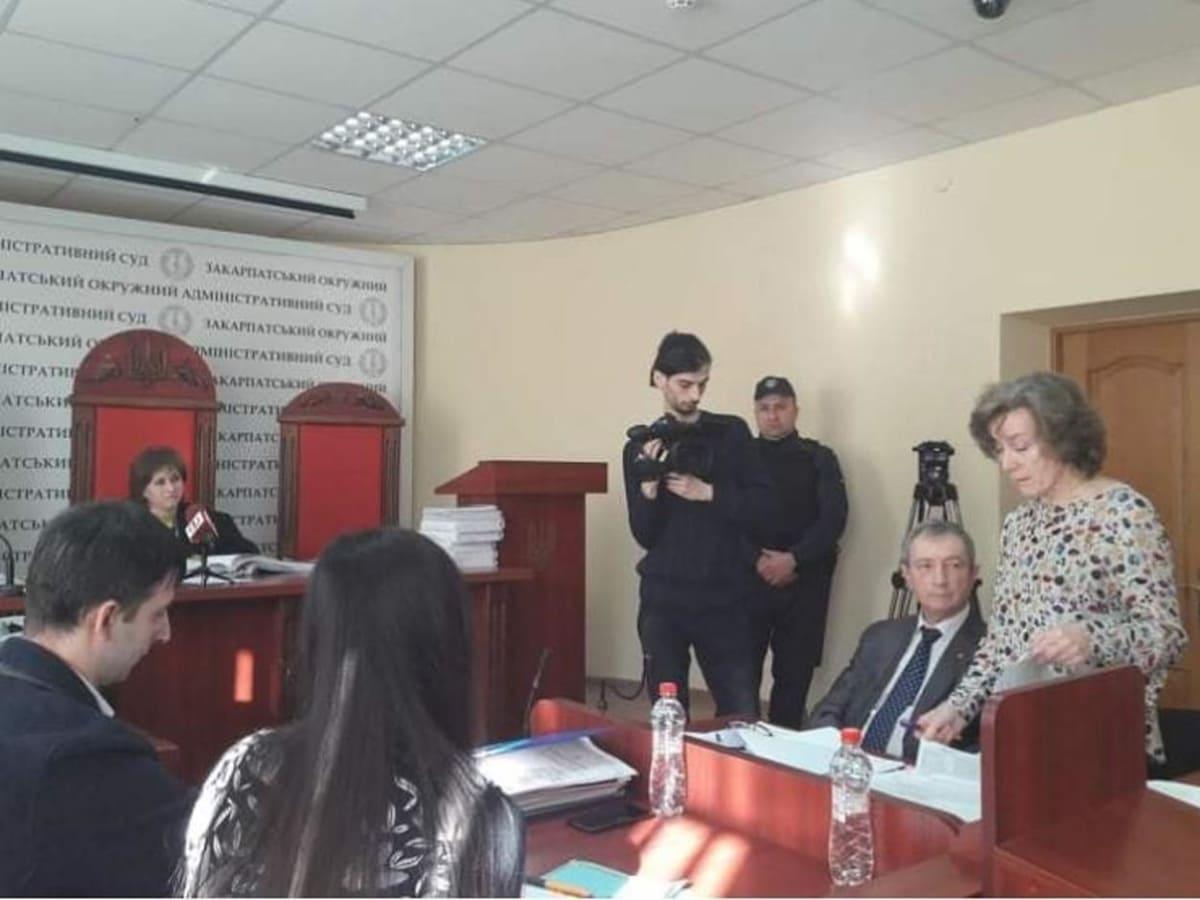 В Ужгороді розпочався суд щодо скасування екологічного висновку фото