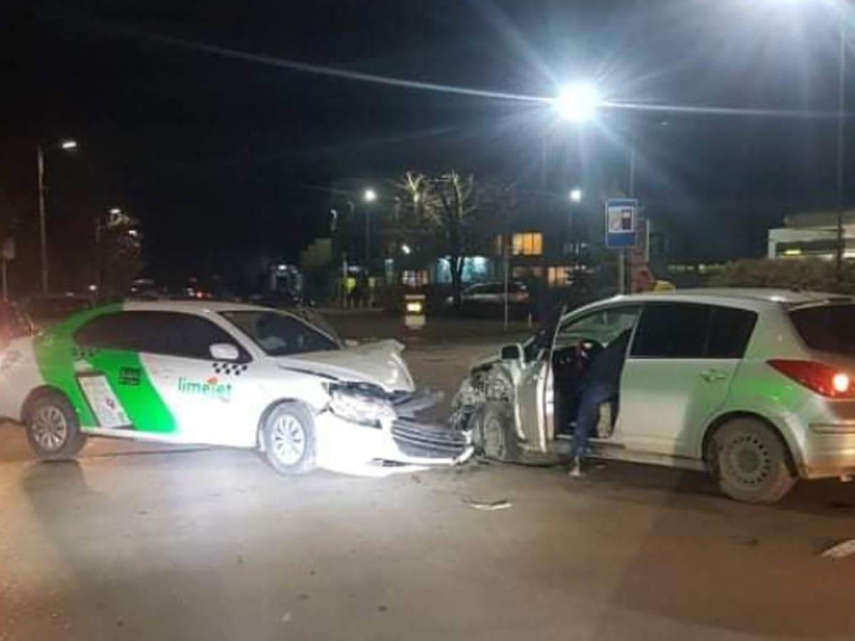 В Ужгороді сталася ДТП з таксі