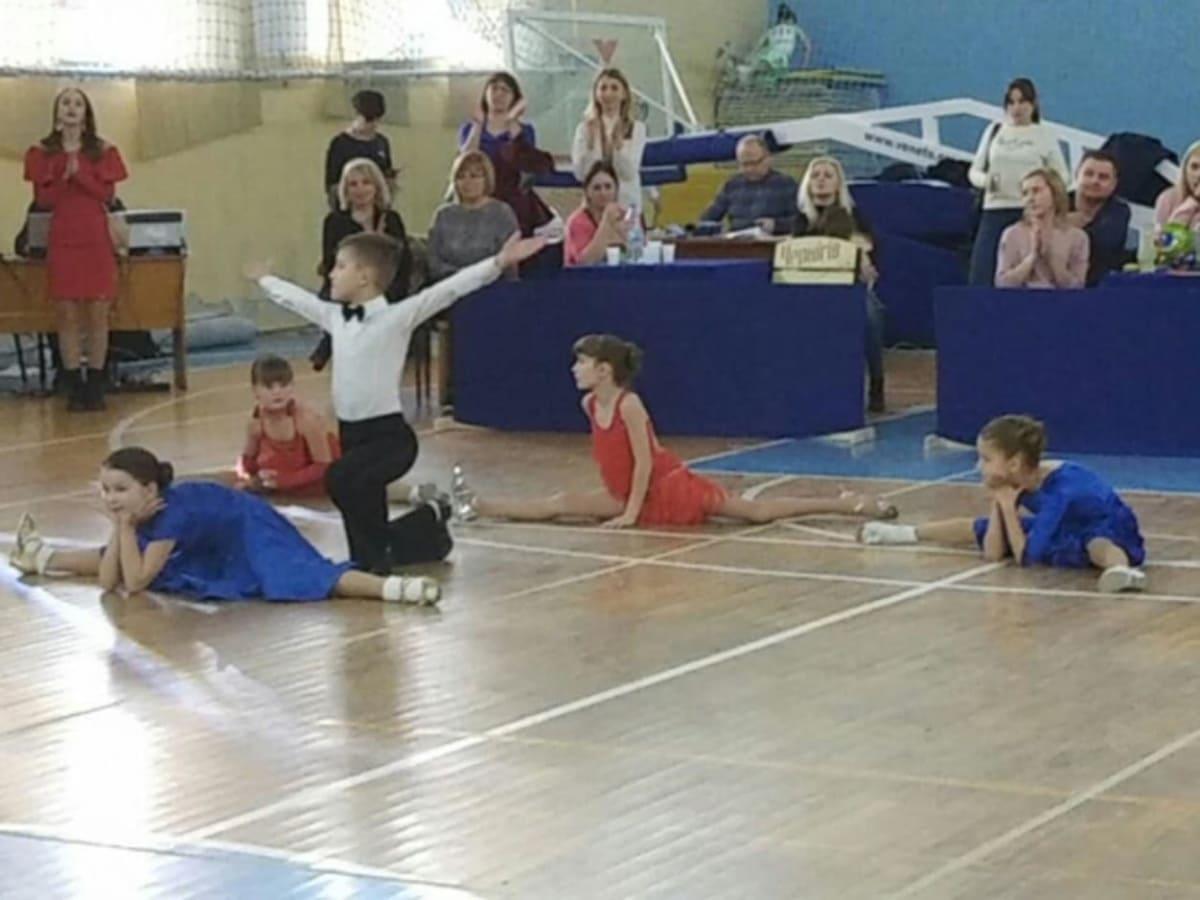 Змагання з бальних танців Uzhgorod Cup 2020 фото