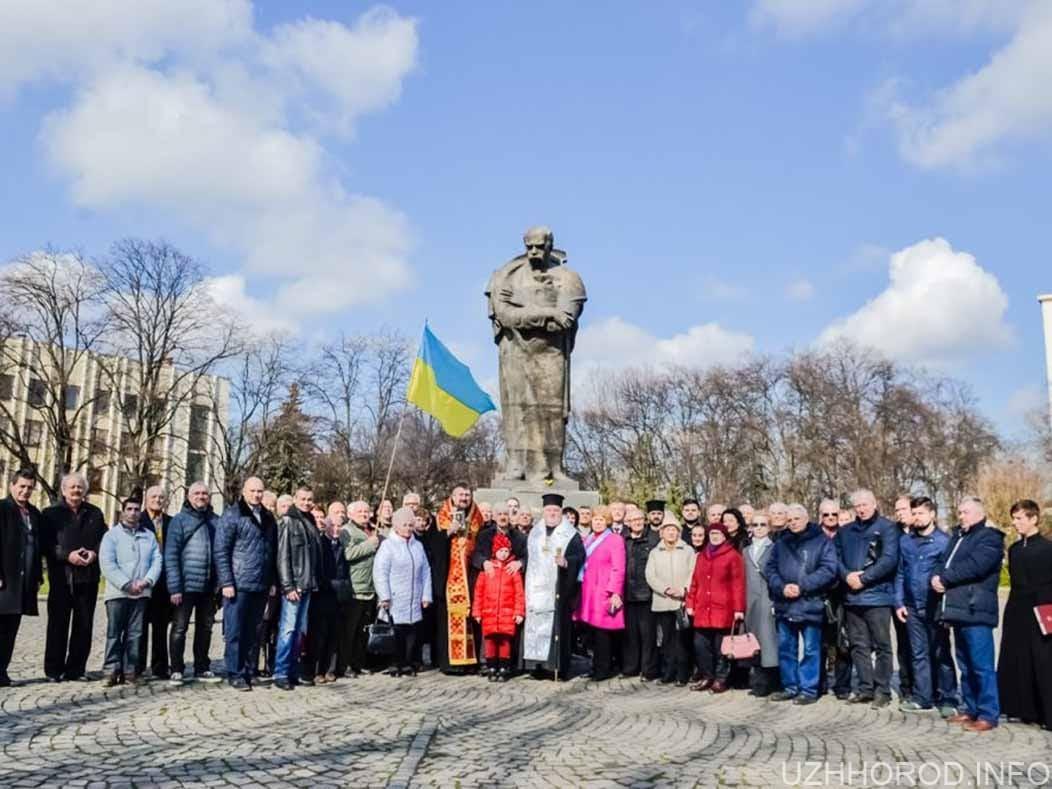 Духовенство та громадськість вшанували Тараса Шевченка фото