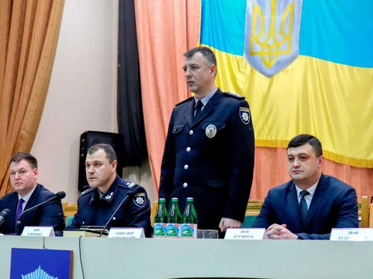 Голова Національної поліції представив нового керівника Закарпатської поліції фото
