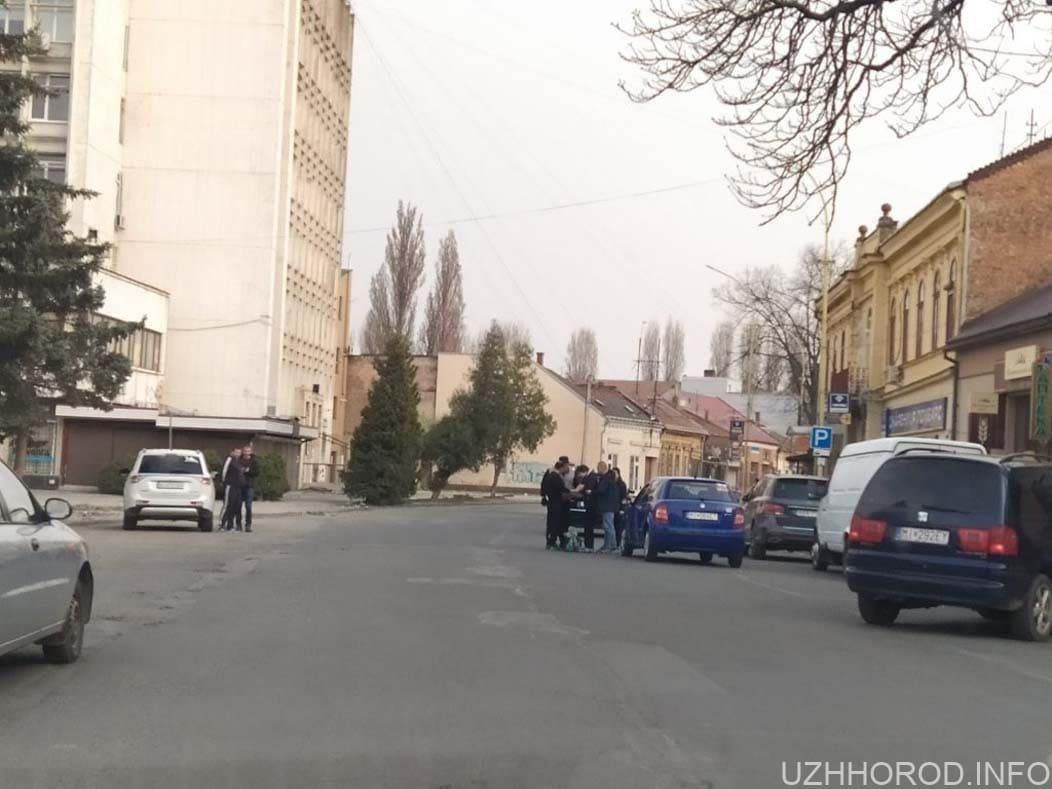 Офіційно про ДТП за участі пішохода в Ужгороді