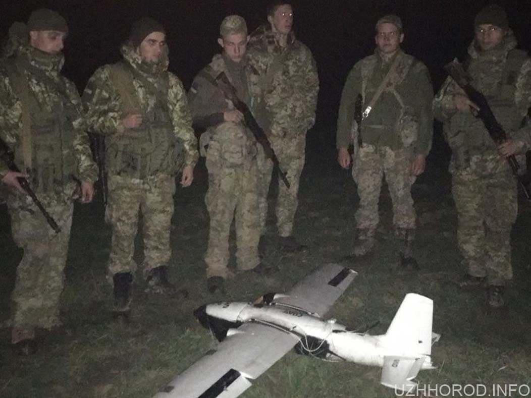 Поряд з Ужгородом прикордонники впіймали безпілотник фото
