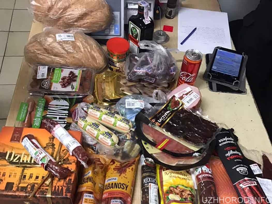 Ужгородець у медичній масці хотів вкрасти продуктів на 2 тис. (ФОТО)